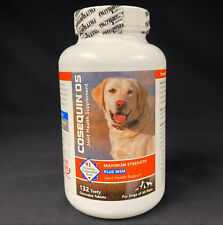 Cosequin Ds Maximum Strength + Msm 132 Chewable Tablets exp 03/2023
