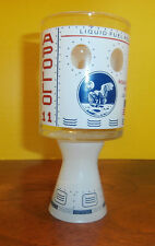 Vintage Apollo 11 Moonshot Spaceship Glass Shot Glass NASA Moon Landing