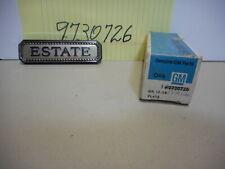 """1974 - 1975 Chevrolet Vega & Chevelle Wagons Rear Fender Nameplate """"Estate"""", NOS"""