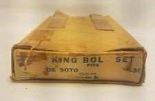 1935 1936 DeSoto Airflow SG S2 King Pin Package NORS MoPar RARE