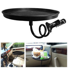 Portable ABS Car Storage Organizer Drink/Coffee Cup Holder Table Stand Food Tray