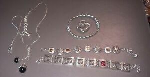 Brighton jewelry lot 3bracelets,1necklace,pendant