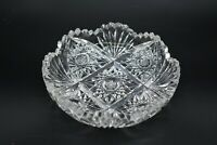 """Pairpoint American Brilliant Period ABP Progress Hobstars & Fans 6"""" Small Bowl"""