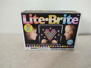 Lite Brite Mini Colorful Pegs 90 Pieces Hasbro Light New Free Shipping
