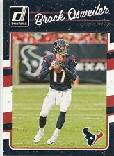 2016 DONRUSS Football #115 BROCK OSWEILER Houston TEXANS CARD