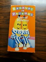 RARE Bananas In Pajamas Special Delivery VHS Tape 1997  Tested