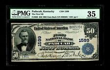 1902 $50 Paducah Kentucky PMG VF 35
