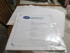 26 Sheets Creative Memories Refill RCM-12S Scrapbook Pages 12x12 Opened Packages