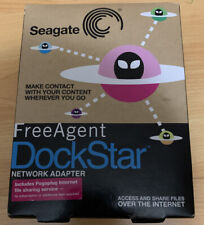 NEW Seagate FreeAgent DockStar Network Adapter Sealed Share Files