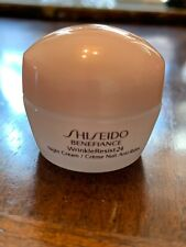 Shiseido Benefiance WrinkleResist24 Night Cream 10ml/.34 OZ New No Box
