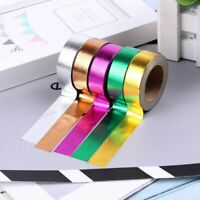 10M DIY Self Adhesive Washi Paper Masking Tape Sticker Craft Decor Stylish