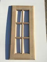 kitchen shaker WALL or BASE Door 495mm x 715mm GEORGIAN STYLE SOLID OAK YALE
