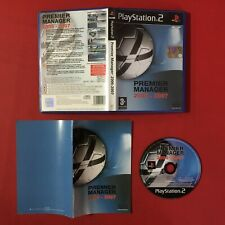 (PS2) PREMIER MANAGER 2006-2007 (ITA PAL) Sony PlayStation 2 + Manuale CALCIO