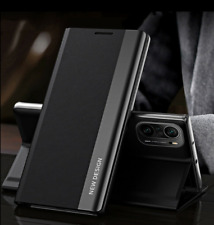 For Xiaomi Redmi Note 10 Pro Max 10S Magnetic Leather Tpu Flip Stand Case Cover