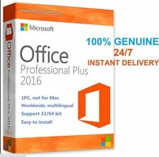 INSTANT DELIVERY MICROSOFT OFFICE 2016 Professional Plus