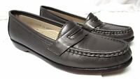 SAS Tripad comfort women's size 7.5 N Narrow gray leather loafers comfort shoes