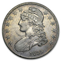 1834 Capped Bust Half Dollar Sm Date/Sm Stars/Sm Letters VF - SKU#14817