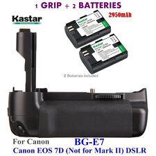 BG-E7 Grip + 2x LPE6 Battery for Canon LP-E6 Battery & Canon EOS 7D Digital SLR