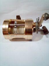 vintage Shakespeare heavy duty anodized gold TWMA 30L fishing reel