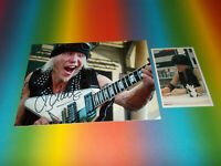 Michael Schenker Scorpions Guitar signed autograph Autogramm 8x11 foto in person