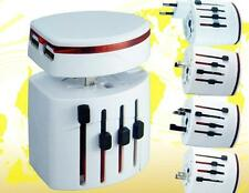 Universal World Multi Travel Plug AU/US/UK/EU AC Outlet Adapter 2 USB Charger