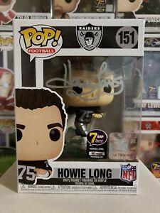 Funko Pop! Football Raiders HOF Howie Long #151 Signed Beckett COA w/Protector