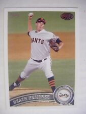 HEATH HEMBREE RC PHILLIES RED SOX 2011 Topps Pro Debut baseball card #281 GIANTS