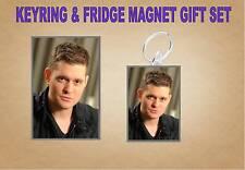 Michael Buble PORTACHIAVI & Magnete del frigorifero Set