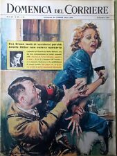 La Domenica del Corriere 8 Dicembre 1963 Omicidio Kennedy Oswald Hitler Johnson