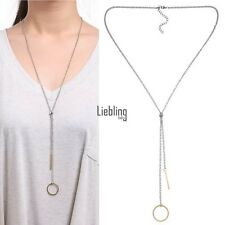 Ladies Sweater Chain Women Metal Necklace Fashion Cloth Chain Neck Lace