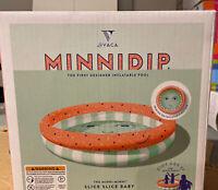 Minnidip Pool Minni-Minni Designer Inflatable Kids Pool. Slice Slice Baby