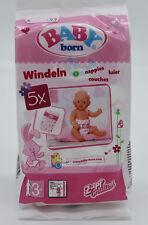 BABY born® Windeln 5 Stück Zapf 826508 für Puppen von 40 bis 43 cm