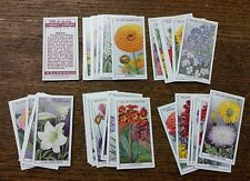 Card Collectors Society Full Repro Set of 50 Wills - Garden Flowers