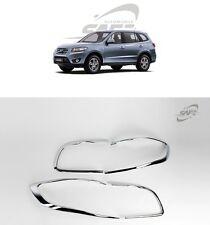 SAFE Chrome Rear Lamp Molding 4Pcs For Hyundai Santa Fe The Style 2010 2012