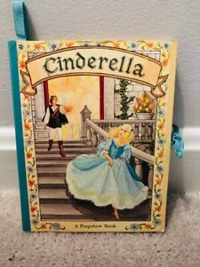 Vintage Carousel Peepshow Pop-Up Book CINDERELLA - Intervisual Communications