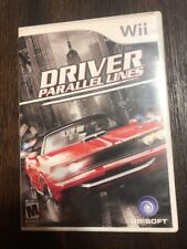 Driver Parallel Lines - Wii - ( Nintendo Wii ) Complete W/box & Manual !