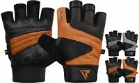 RDX Weight Lifting Gloves Gym Training Fitness Workout Bodybuilding CA