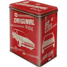 VW Golf 1 Dose Volkswagen Merchandising Metal Box Tin Can *013