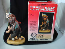 Emmett Kelly Circus Collection Fore Golf Figurine Limited Edition