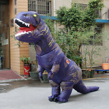 Inflatable Dinosaur Costume Jurassic T rex Cosplay Halloween Dragon Outfit