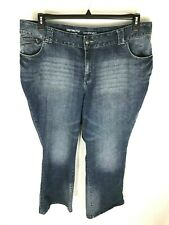 c953f03834e LANE BRYANT Jeans Womens Plus 22 Petite Distinctly Boot Stretch Blue Pockets