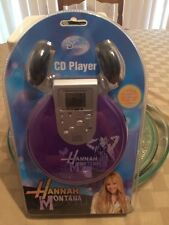 Disney Hannah Montana Miley Cyrus Portable CD Player Music 60 Second Anti-Shock
