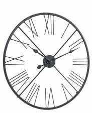 Uhr, Wanduhr heinehome Ø 60 cm Metall schwarz      008769