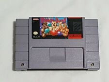 Super Punch Out!! Super Nintendo Game AUTHENTIC SNES punchout boxing WORKS GREAT
