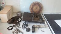 ANTIQUE SPARE PARTS FOR 1920S HMV -110 - GRAMOPHONE - MOTOR - SPRINGS ETC
