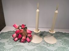 Lenox Taper Candle Candlestick Holders Set of 2