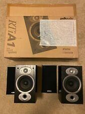 New listing Polk Audio Am1175-A Rti A1 Black Bookshelf Speakers