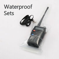 Waterproof Case Bag for Two-way Radio Baofeng UV-5R 6R 888s T3 + Hand Sling US