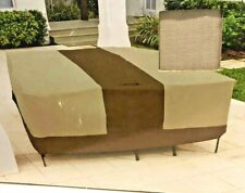 Hampton Bay Universal Square Table and chairs Patio cover New Weather proof