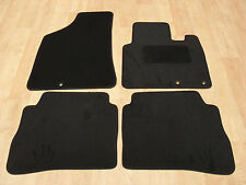 Hyundai Santa Fe (2009-2012) Fully Tailored Car Mats Black.